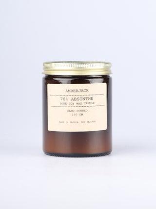 Amberjack Candle - 70% Absinthe