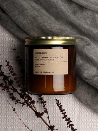 Amberjack Candle Large - Brown Sugar & Fig