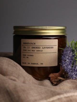 Amberjack Candle Large - Smoked Lavender