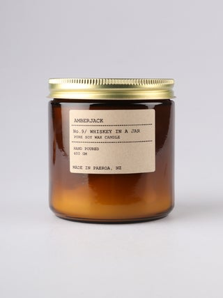Amberjack Candle Large - Whiskey in a Jar