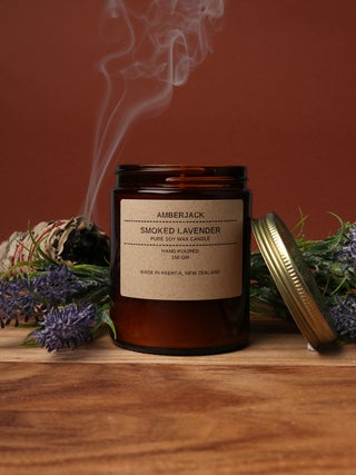 Amberjack Candle - Smoked Lavender
