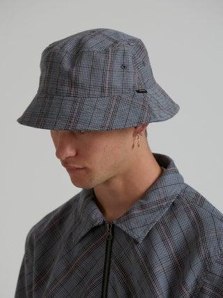 Amity - Hemp Check Bucket Hat