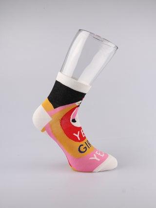 Ankle Socks - Yes, Girl Yes