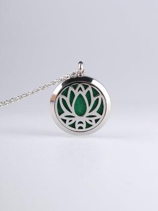 Aroma Pendant Lotus silver