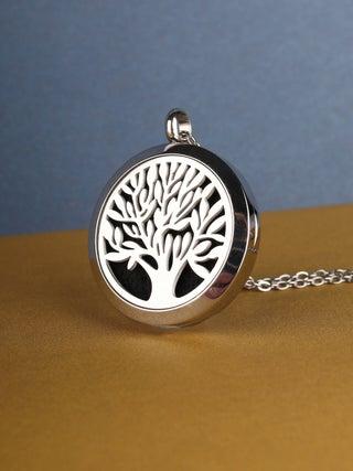 Aroma Pendant Tree of Life silver