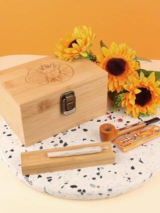 Bamboo Stash Box