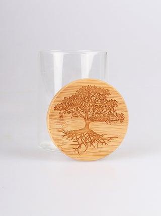Bamboo Stash Jar 120ml