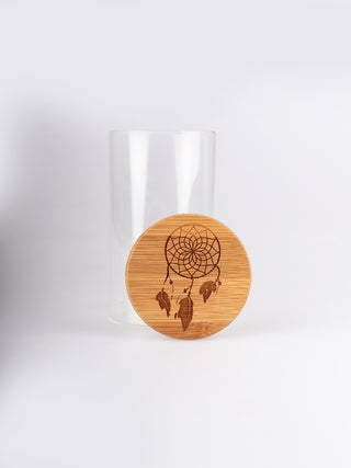 Bamboo Stash Jar 300ml