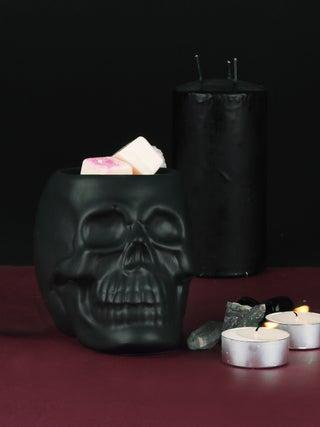 Black Skull Oil Burner