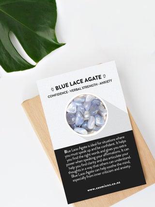 Blue Lace Agate - Tumbled