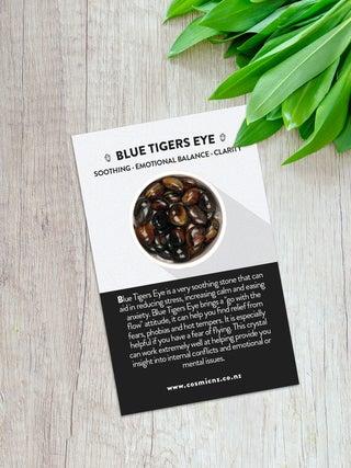 Blue Tigers Eye - Tumbled