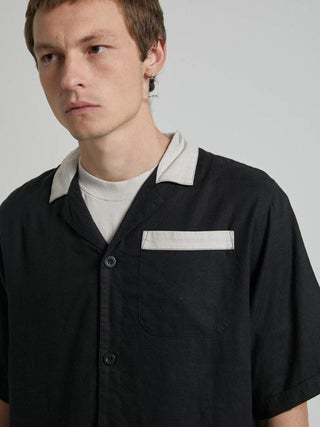 Bowlo - Hemp Cuban Short Sleeve Shirt