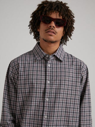 Capital - Hemp Check Long Sleeve Shirt