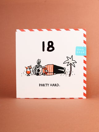 Card - 18 Party Hard