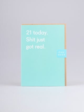 Card - 21 Today