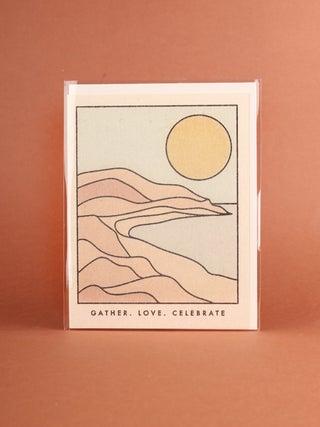 Card - Gather Coastline