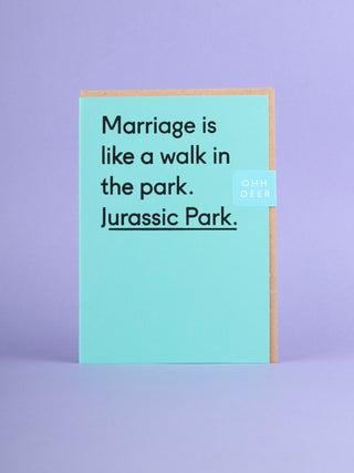 Card - Jurassic Park