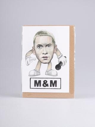 Card - M & M