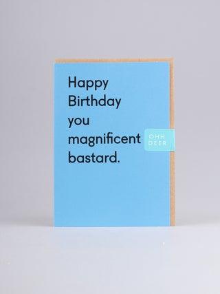 Card - Magnificent Bastard