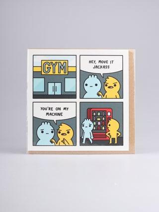 Card - My machine