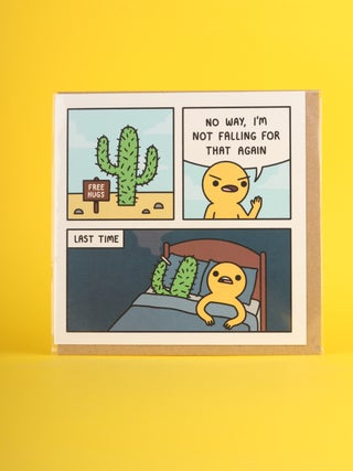 Card - Not falling for that again