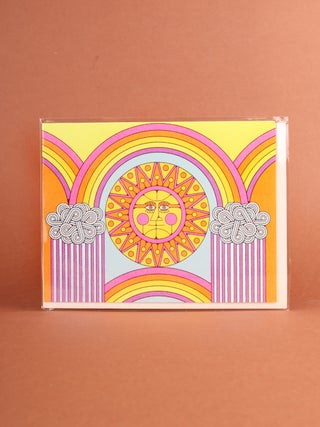 Card - Sun and Rainbows