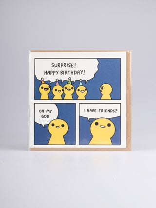 Card - Surprise Birthday