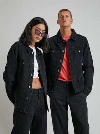 Detroit - Unisex Organic Denim Jacket
