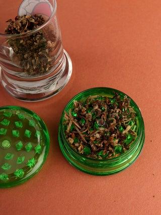 Dr Greens Plastic Grinder w-Storage