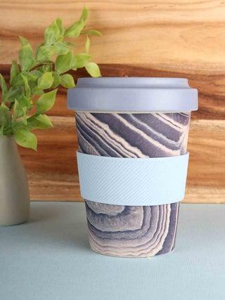 E-Cup - Bamboo Geode Print