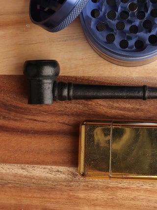 Ebony Wood Small Pipe