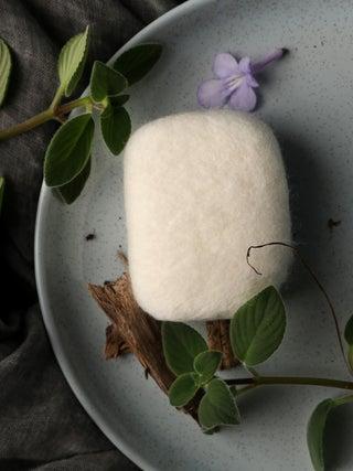 Eco Felted Soap - Manuka Honey & Oatmeal with Manuka Essential Oil