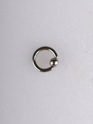 F2 Steel Attached Ball Ring-1.2x6mm