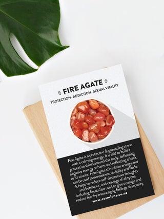 Fire Agate - Tumbled