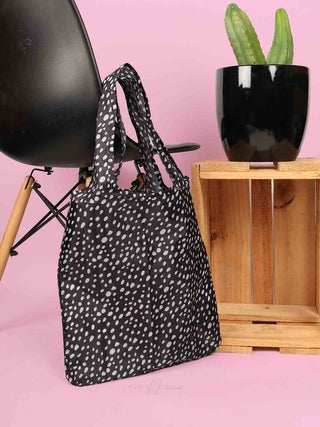 Foldable Shopper with Clip