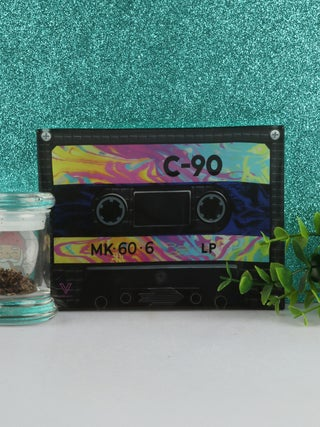 Glass Tray Small - Cassette