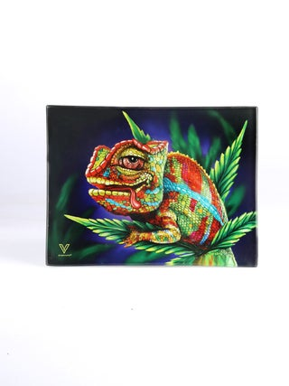 Glass Tray:Small - Cloud 9 Chameleon