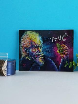 Glass Tray:Small - T=HC2 Einstein Classic