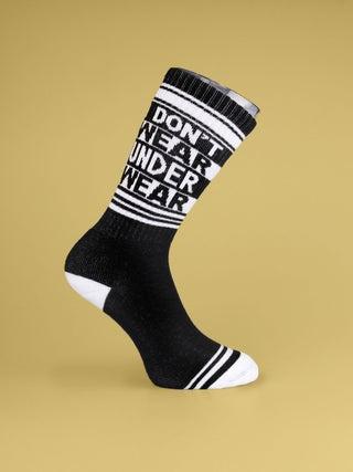 Gym Socks Ribbed -I DONT WEAR UNDERWEAR