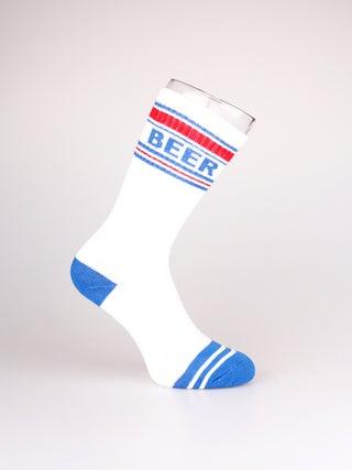 Gym Socks Ribbed - Patriotic Beer