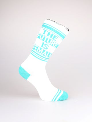 Gym Socks Ribbed - THE FUTURE IS FEMALE