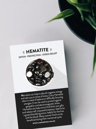Hematite - Tumbled