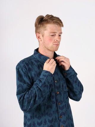 Hemp Patterned Shirt - 2 Pocket