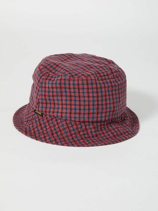 Highland - Hemp Check Bucket Hat