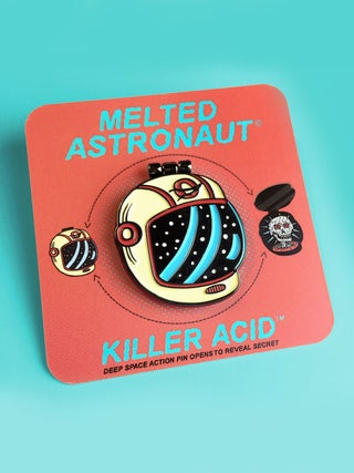 Killer Acid Melted Astro Pin