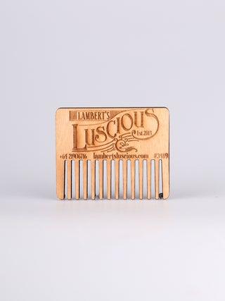 Lamberts Luscious Rimu Beard Comb