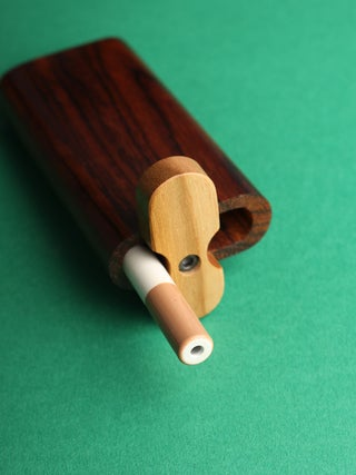 Large Cocobolo Swivel Dug-out