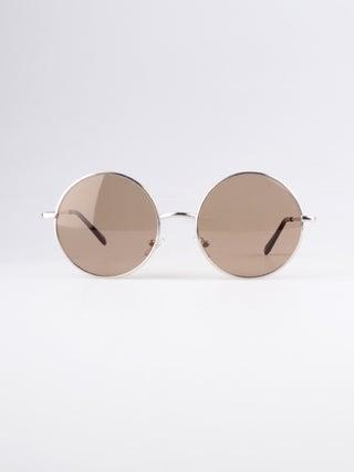 Large Lennon Wireframe Sunglasses