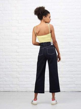 Lucy & Yak Brooke Wide Leg Organic Jeans