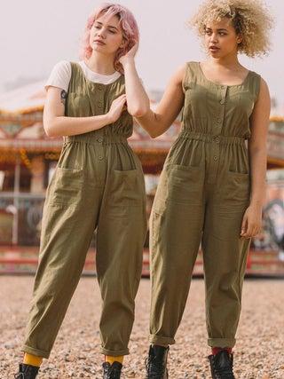 Lucy & Yak Juni Cotton Linen Boilersuit